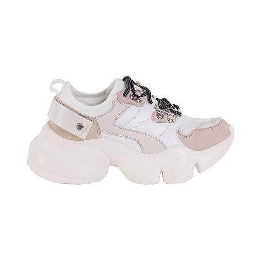 Zapatilla Mujer New Walk Gubbio White