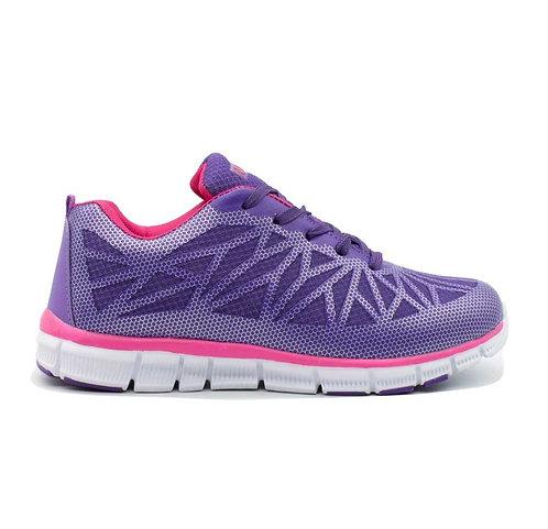 Zapatilla Mujer New Walk Sport Lila