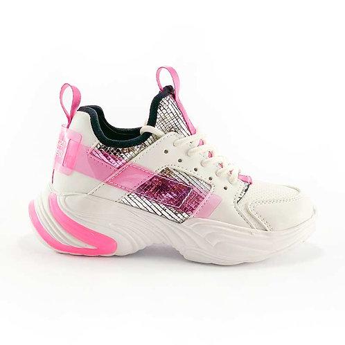 Zapatilla VZ Niña Shiny Pink