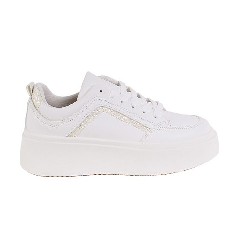 Zapatilla Mujer New Walk Trento White