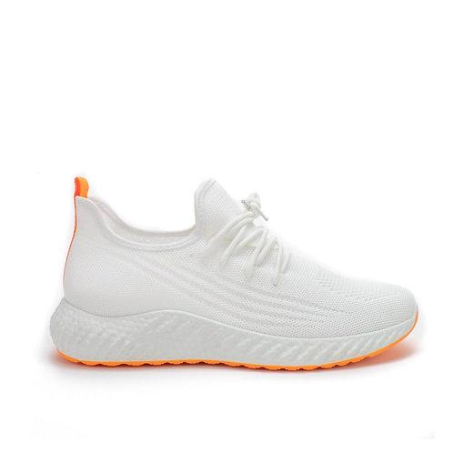 Zapatilla New Walk Socks White
