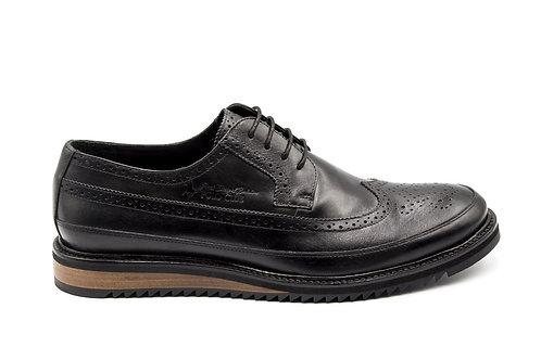 Zapato Polo Club Black Cuero