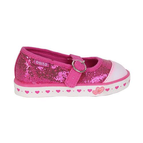 Zapatilla Osito Shine Pink