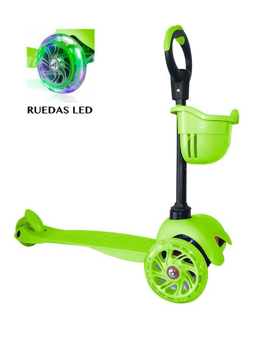Scooter Adaptable Verde