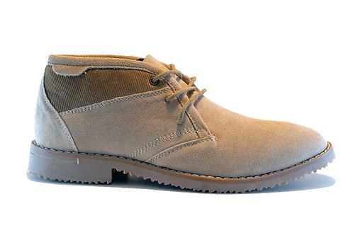 Zapato New Walk Taupe Cuero