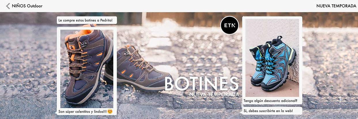 Zapatillas Outdoor Niños - Elige tu número