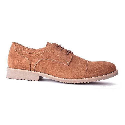 Zapato Nat Geo Camel Cuero