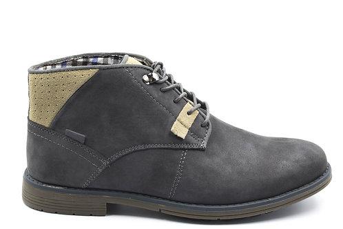 Botín New Walk Cuero Grey