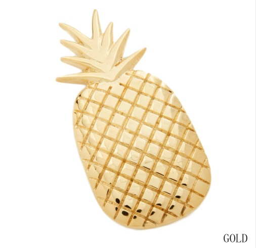 pince cheveux ananas gold3
