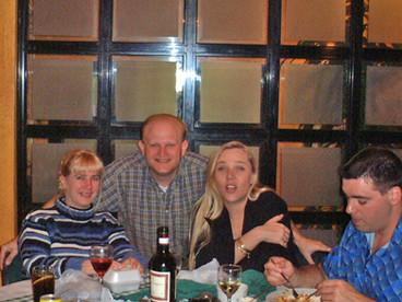 Dinner with friends, Durban