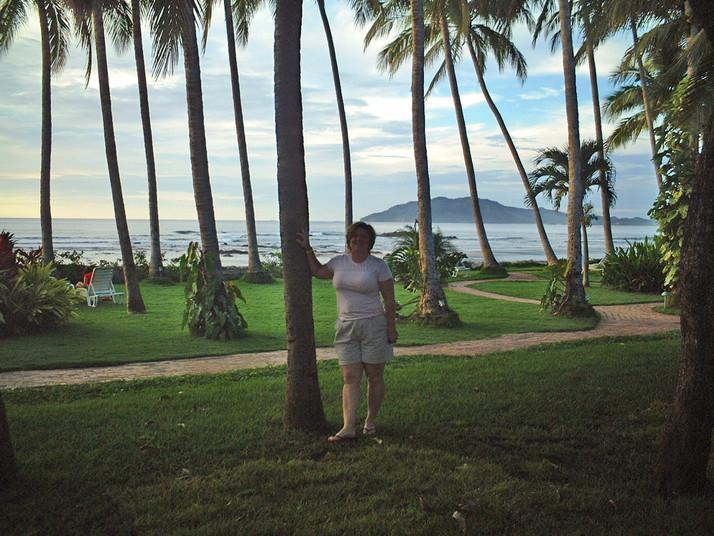 Evening at El Diria Resort - Tamarindo