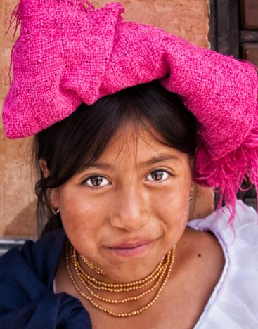 Otavalo Market Girl