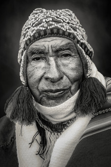 Portrait of an Andean Man