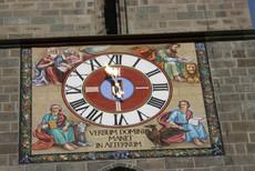 Clock on Black Church, Braşov