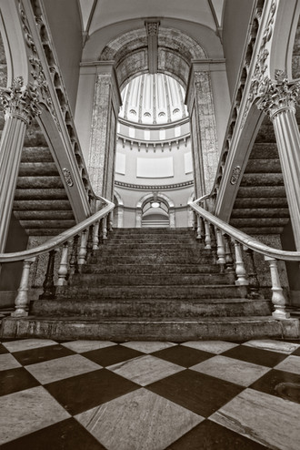 Statehouse Staircase