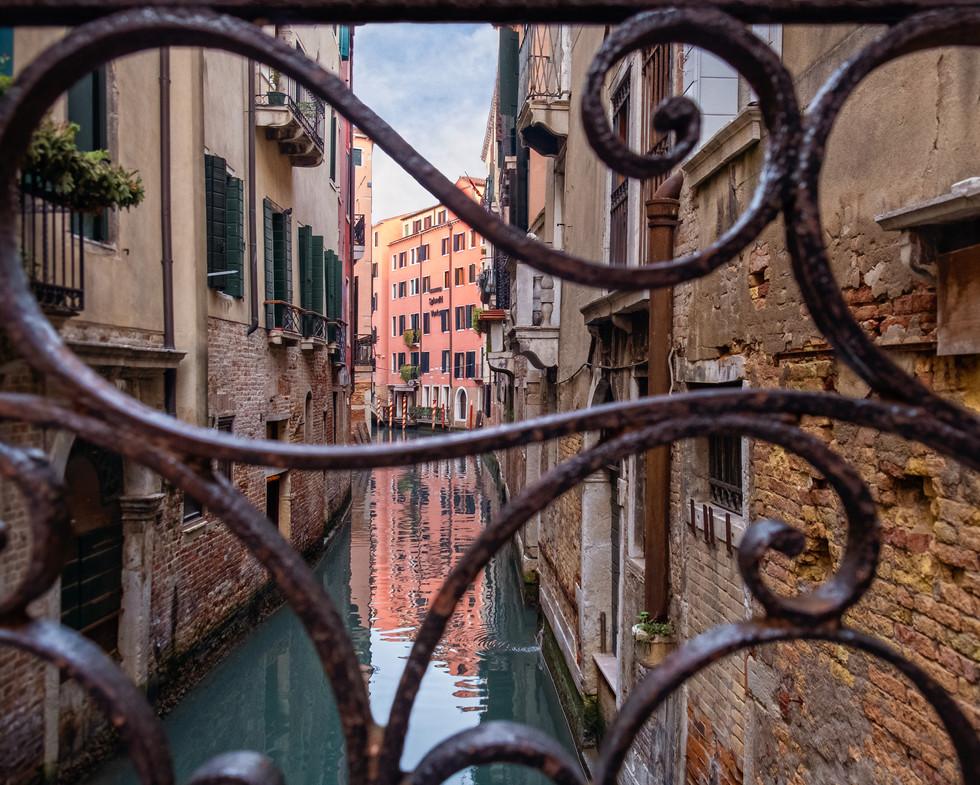 Through to a Venice Canal