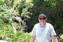 Waterfall pitstop on the Road to Hana, Maui