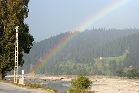 Start of the rainbow, Southern Bucovina