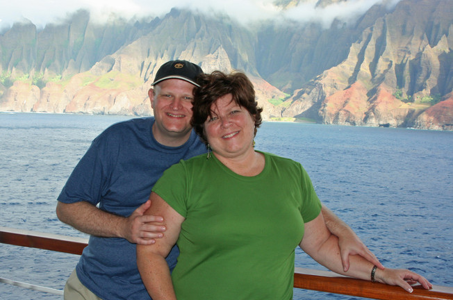 Cruising by the Na Pali Coast, Kauai