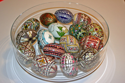 Romanian Painted Eggs