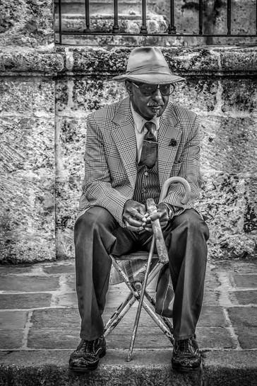 Dapper Man with Cigar