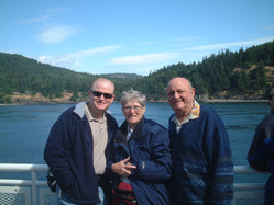 On the ferry to Victoria, BC