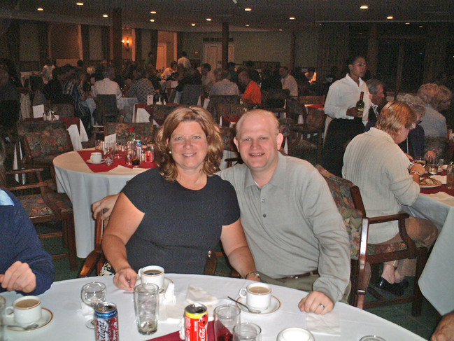 Dinner at the Durban Country Club