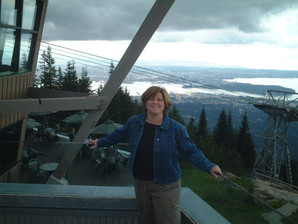 Vancouver view - from top of Grouse Mountain