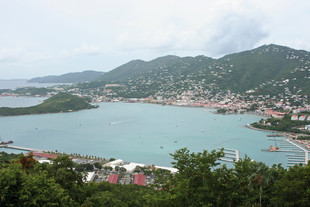 View of Charlotte Amalie - St. Thomas USVI