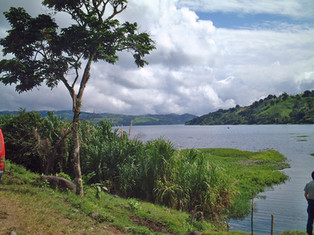 The shores of Lake Arenal