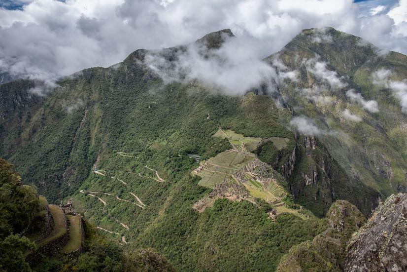 Machu Picchu from Huayna Picchu Peak