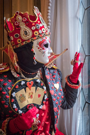 The Queen of Hearts at Window