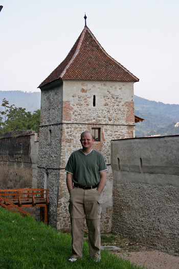 Medieval defensive wall and tower, Braşov