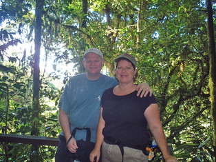 In the Monteverde Cloud Forest Preserve