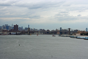 Leaving the Port of New York