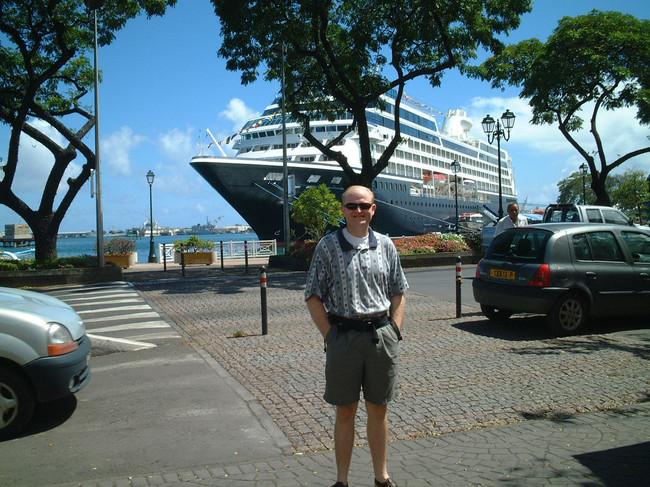Cruise Ship in Papeete, Tahiti