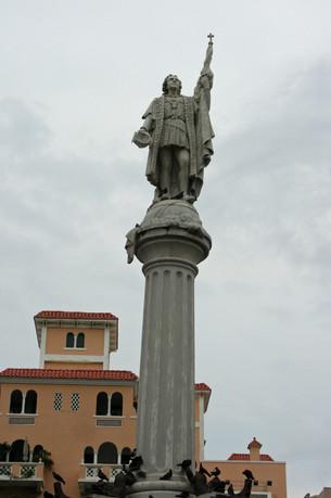 Statue of Christopher Colombus, San Juan