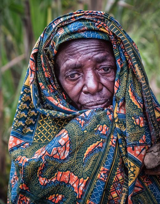100 Year Old Batwa Woman