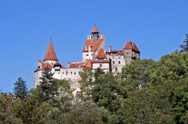 Bran Castle, home of Vlad Ţepeş (Vlad the Impaler)