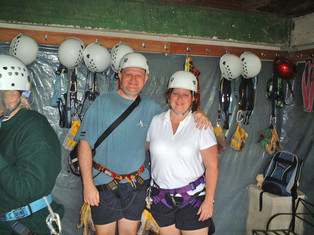 Geared up for the Canopy Tour