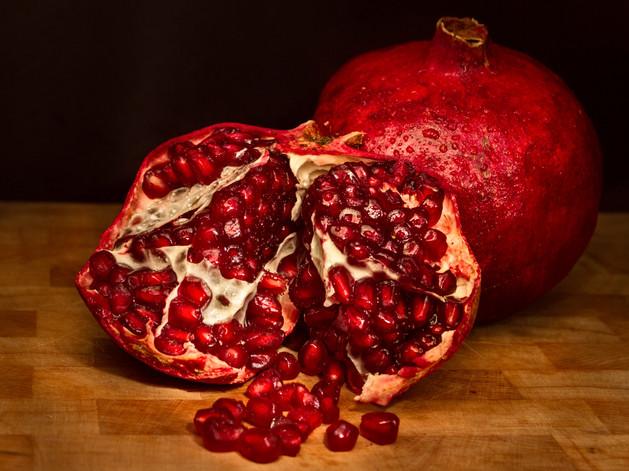Split Pomegranate $10