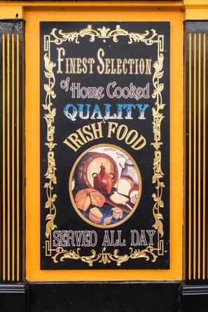 Irish Food Served