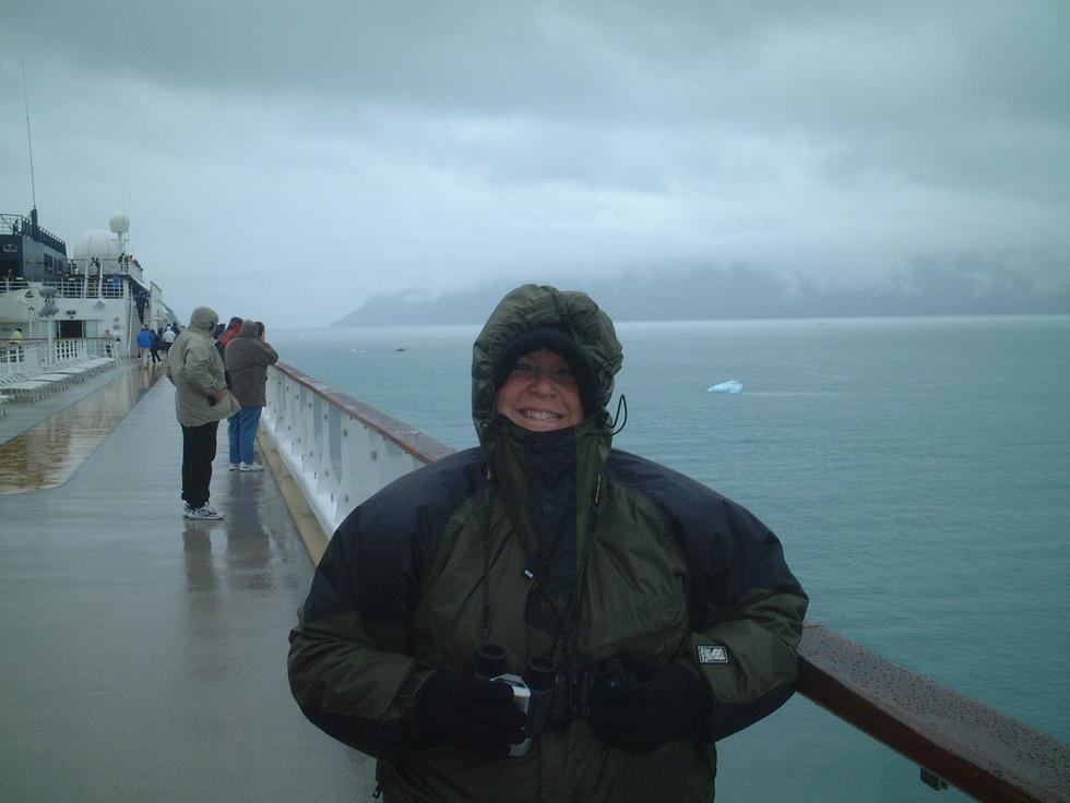 Cruising to Hubbard Glacier