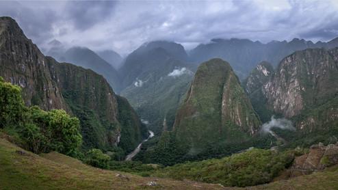 Urubamba River Valley Pano