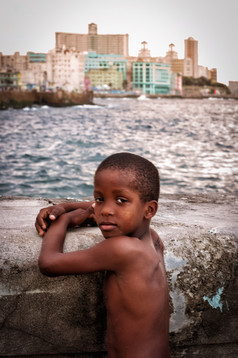 Young Boy at the Malecon