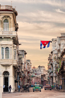 Sunset over Havana