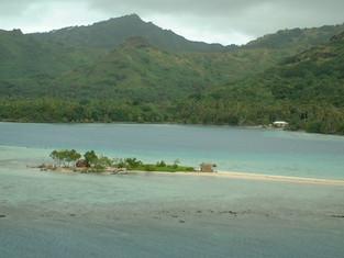 Cruising through the islands