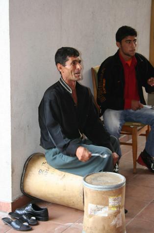 Roma musicians