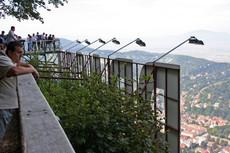 Atop Mount Tâmpa, Braşov