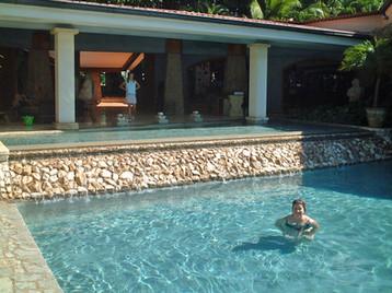 Beachside swimming pool